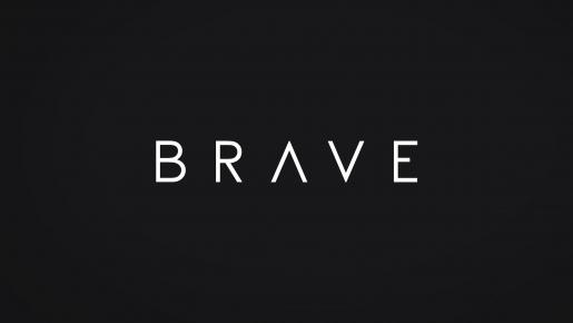 BRAVE Projekt logotypu firmowego