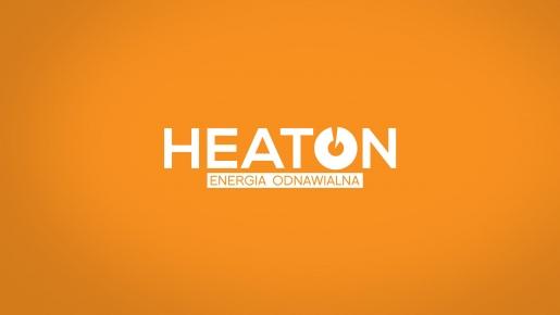 heaton Projekt logotypu firmowego
