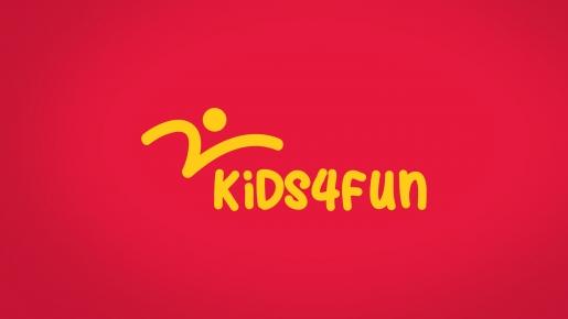 kids4fun Projekt logotypu firmowego