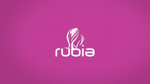 rubia Projekt logotypu firmowego