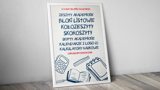 zeszyty akademickie Projekt plakatu firmowego