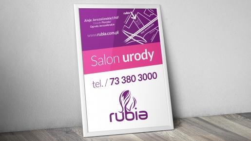 rubia Projekt plakatu firmowego