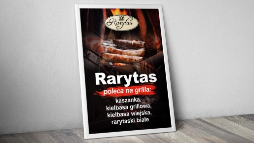 rarytas Projekt plakatu firmowego
