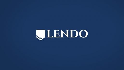 LENDO Projekt logotypu firmowego