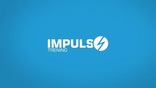 impuls trening Projekt logotypu firmowego