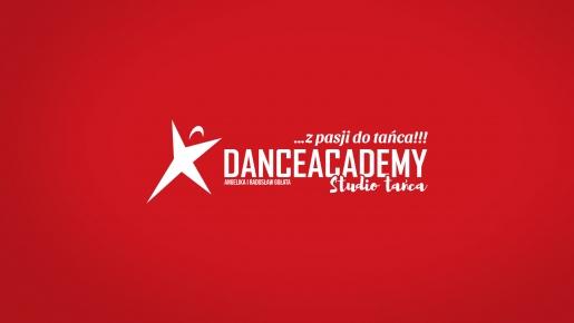 DANCEACADEMY Projekt logotypu firmowego