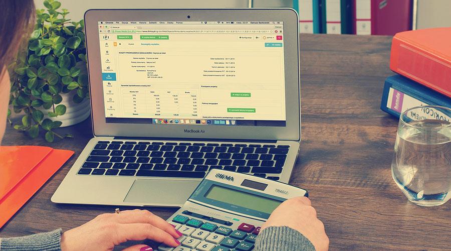 Strony internetowe dla biura rachunkowego
