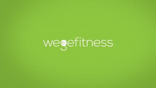 wegefitness Projekt logotypu firmowego