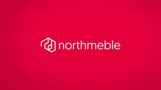 northmeble Projekt logotypu firmowego