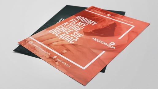 regiowizja Projekt ulotki reklamowej