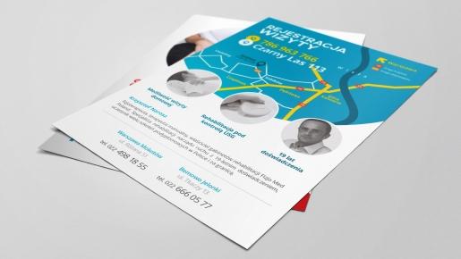 fizjomed poland Projekt ulotki reklamowej