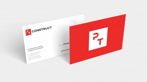pt constructor Projekt wizytówki firmowej